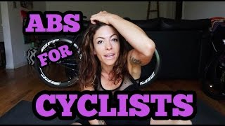 ABS for CYCLISTS: Easy Core Moves | KymNonStop