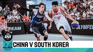 China v South Korea - Full Game - FIBA 3x3 Asia Cup 2018