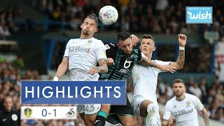 Highlights: Leeds United 0-1 Swansea City | EFL Championship