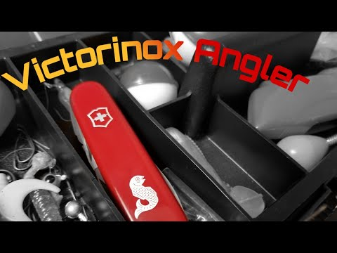Victorinox Angler Swiss Army Knife Review And Demonstration!  #fishing #multitools