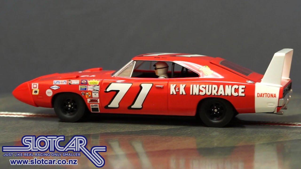 C3423 Scalextric DPR Slot Car Dodge Charger 1969 Daytona 71 Slotcar