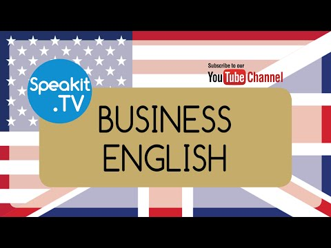 Business English Course | 1) CORPORATE MANAGEMENT | Speakit.tv (51099-01)