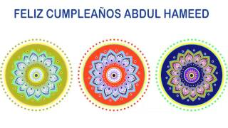 AbdulHameed   Indian Designs - Happy Birthday
