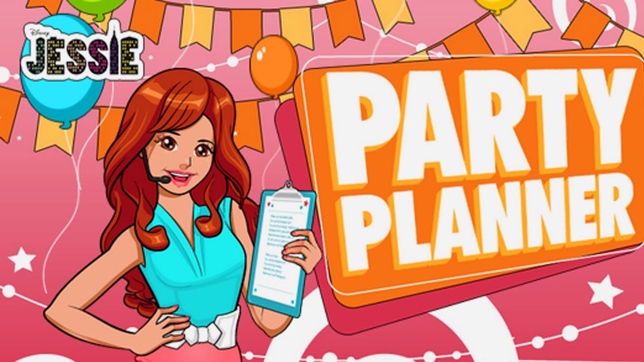 Disney Series Jessie - Party Planner (Game for Kids) - YouTube