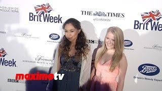 Video Jessica Sanchez & Hollie Cavanagh 8th Annual BritWeek Launch Party Red Carpet #AmericanIdol download MP3, 3GP, MP4, WEBM, AVI, FLV Oktober 2017