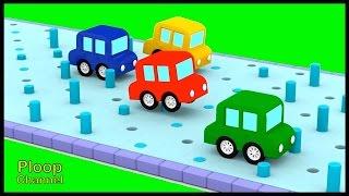 Cartoon Cars - JELLY POOL CHALLENGE! - Construction Cartoons for Children - Kids Cars Cartoons