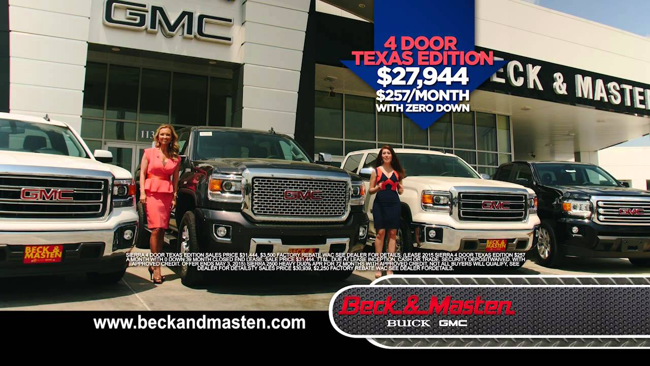 Spring Into Savings with the new 2014 GMC Sierras Beck   Masten GMC     Spring Into Savings with the new 2014 GMC Sierras Beck   Masten GMC