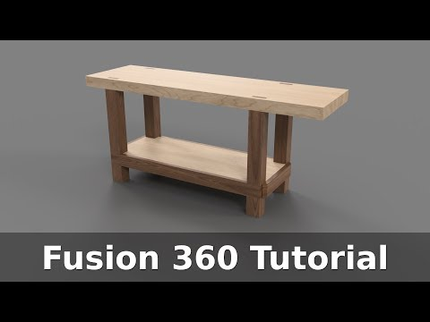 Fusion 360 Tutorial: Woodworking Workbench