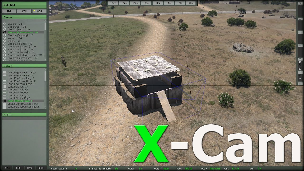 Arma 3 der x cam 3d editor kurz vorgestellt youtube 3d editor