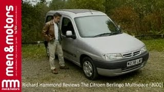 Richard Hammond Reviews The Citroen Berlingo Multispace (2000)(Richard Hammond checks out the Citroen Berlingo Multispace. He finds out how the French MPV handles on the road and then checks out what it offers in terms ..., 2013-10-04T14:45:13.000Z)