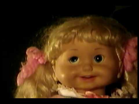 Creepiest Talking Doll Ever Vintage 1986 Cricket Doll Youtube