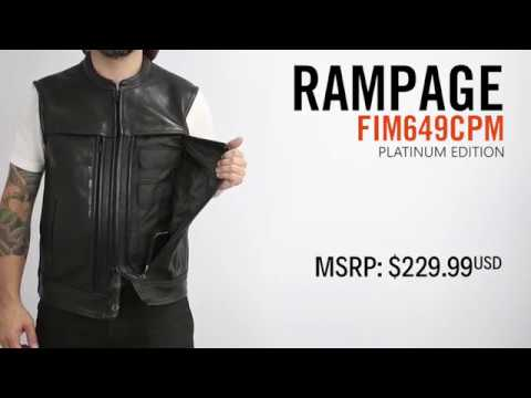 First Mfg Co - Rampage vest
