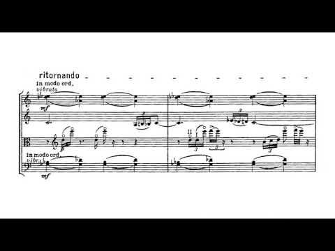 Bela Bartok - String Quartet no  4