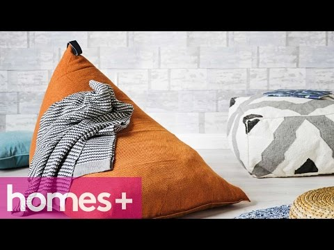 DIY PROJECT: Beanbag - Homes+