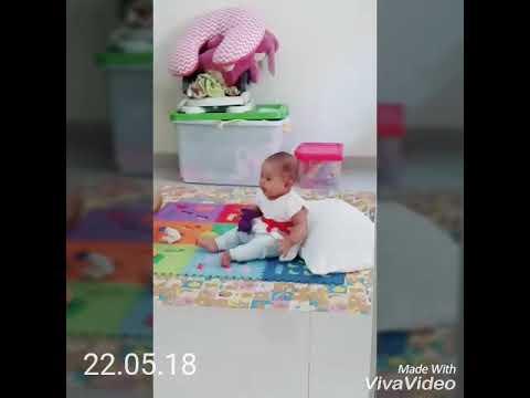 #EnchielTV: Bayi 8 Bulan Ngomel Suara Kayak Bledek