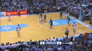 UNC Men's Basketball: Four Corners Offense vs. Georgia Tech