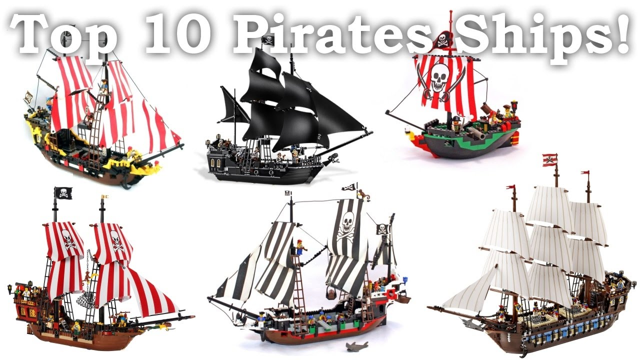 LEGO Pirates Top 10 Ships  YouTube