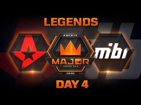 Astralis vs MiBR - Dust 2 (FACEIT Major: London 2018)