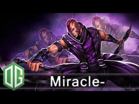 OG.Miracle- Anti-Mage Gameplay - Unranked Match - OG Dota 2