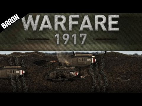 Fighting VERY AGGRESSIVE Brits w TANKS - Warfare 1917