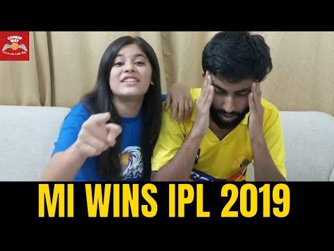 MI Wins IPL 2019 – Mumbai Indians vs Chennai Super Kings