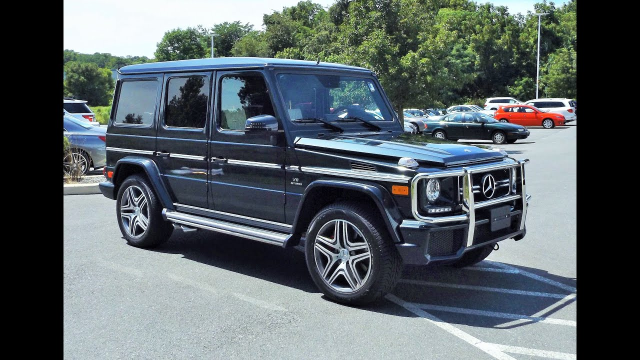 2014 mercedes benz g63 amg g class 5 5l biturbo v8 start up exhaust tour and review youtube