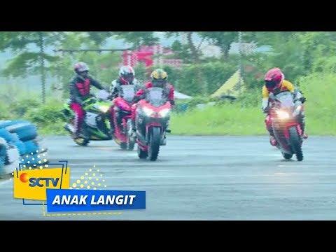 Kurang Beruntung! andra Alami Kecelakaan Saat Balapan   Anak Langit - Episode 950