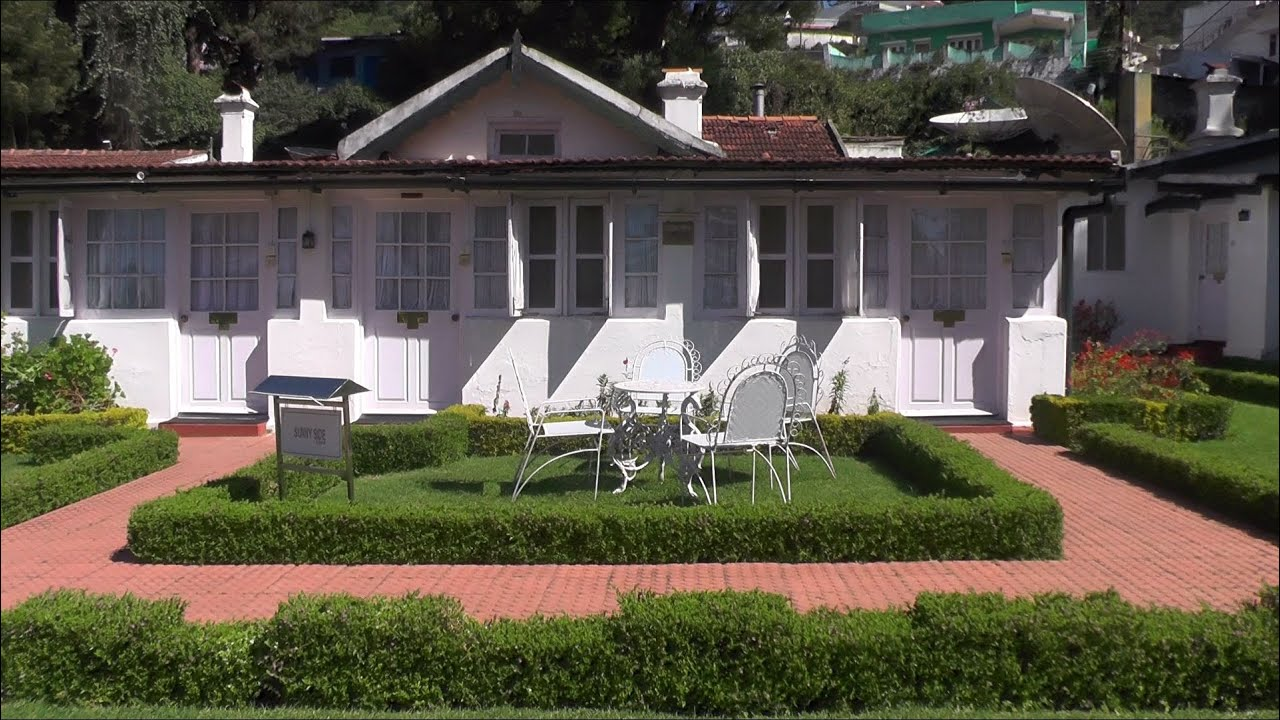 Bungalow Complex In Ooty Southern India