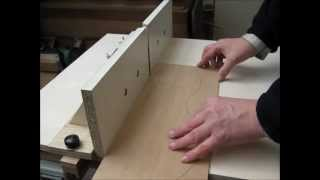 Using Router Table As Jointer For Shooting Guitar Tops