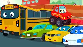 Wir sind monster lkw | Lieder für Kinder | Baby Gedichte | Kids Songs | We Are The Monster Truck