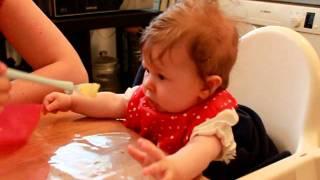 Lily äter palsternacka