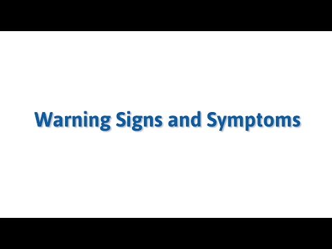 Warning Signs & Symptoms of an Eating Disorder