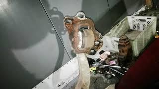 Замена задних сайлентблоков Opel Vectra B