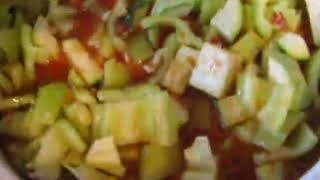 Быстрое и вкусное лечо из кабачков на зиму