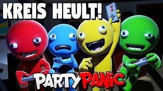 Party Panic German Deutsch Gameplay - Kreis wird ZERSTÖRT!