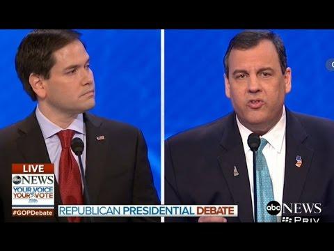 Chris Christie Absolutely Obliterates Marco Rubio