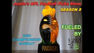 Championship Sunday (AFC & NFC Championship Games)   Justin's 2020 NFL Playoffs Picks Show