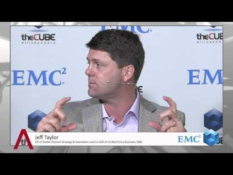 Jeff Taylor - EMC World 2013 - theCUBE - #EMCWorld