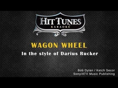 Darius Rucker - Wagon Wheel - Karaoke