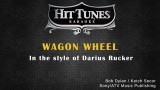 Darius Rucker - Wagon Wheel - Karaoke