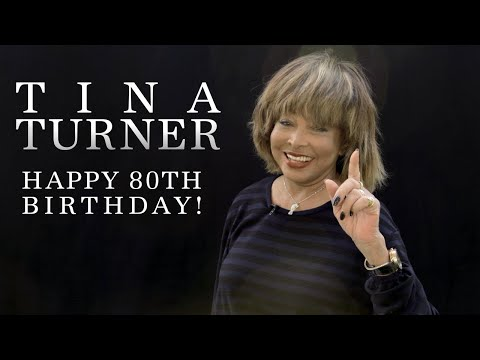 Mimi Brown - Tina Turner 80th Birthday Message, Videos And More!