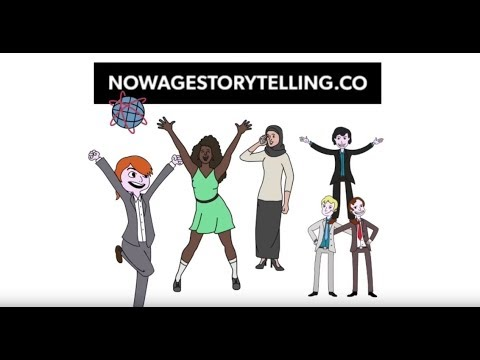 Explained in an animated video: Now Age Storytelling.