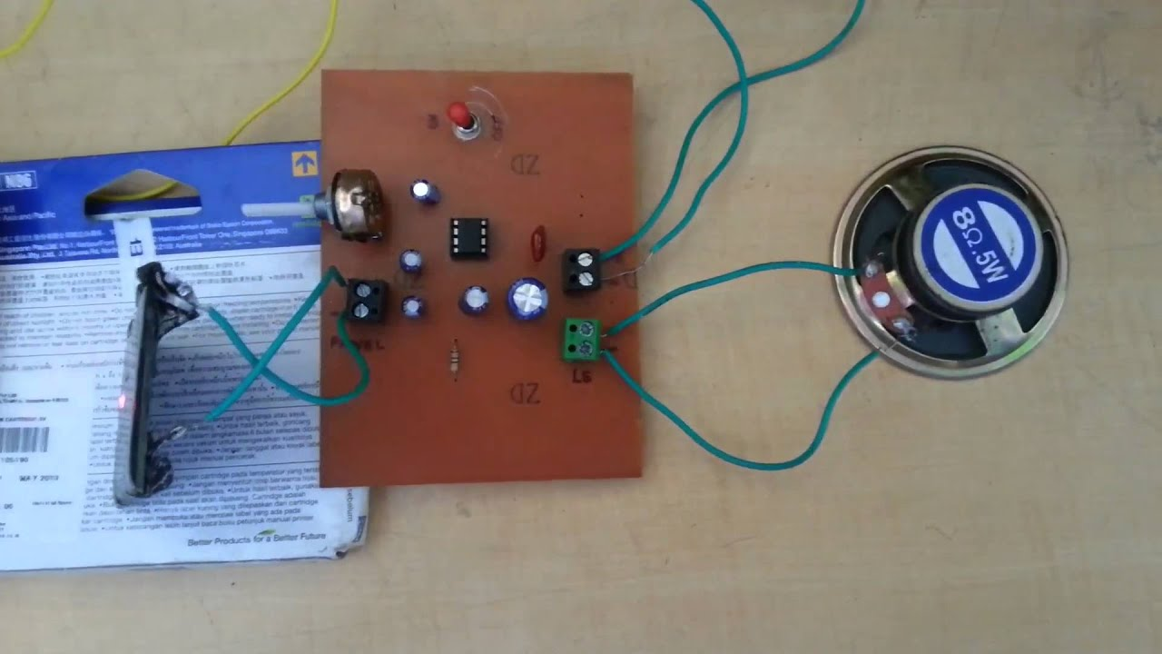 Engineering project (OPAMP BASED) ::WIRELESS MUSIC TRANSFER system ...