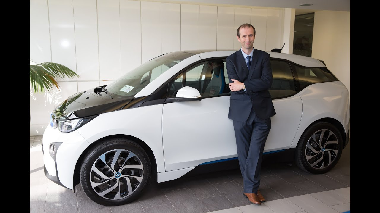 Testing The Bmw I3 Electric Car On The Streets Of Galway Youtube
