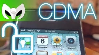 Unlock o Desbloquear iPhone 4s CDMA (Verizon & Sprint) para GSM