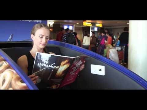 GoSleep opening in Tallinn Airport, Estonia in June 2015