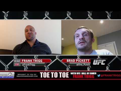 Frank Trigg Interviews recently retired UFC bantamweight Brad Pickett