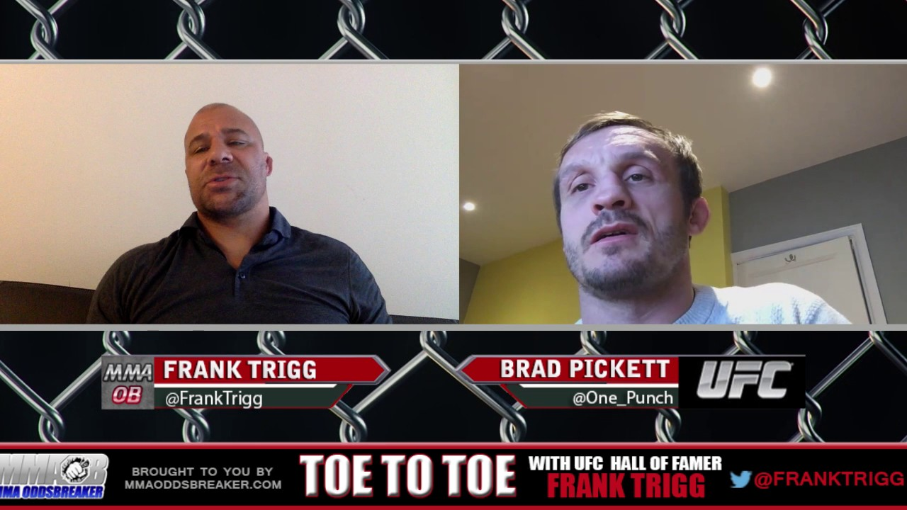 Frank Trigg Interviews recently retired UFC bantamweight Brad Pickett