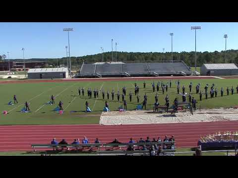 Burke County Marching Band Early Performance at the Grovetown Invitational - October 13, 2018