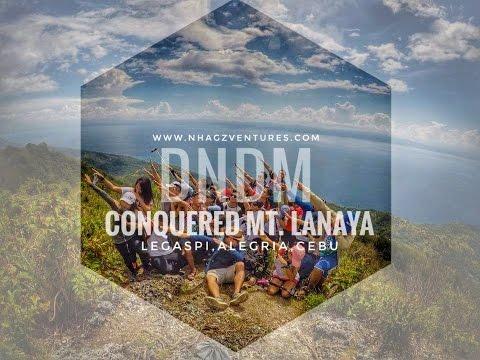 DNDM; Conquering Mt.Lanaya Alegria, Cebu